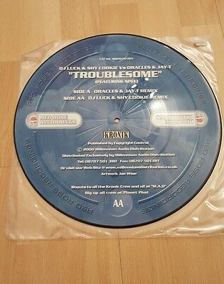 """dj luck and shy cookie troublesome 12"""" uk garage vinyl"""