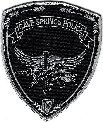 Cave Springs Police Arkansas patch NEW
