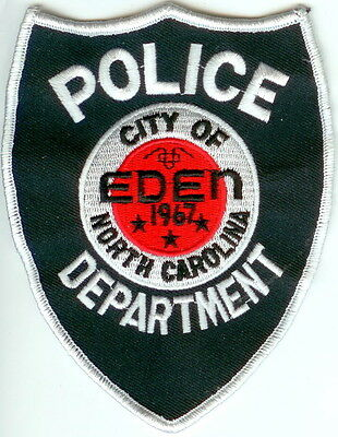 City of Eden Police North Carolina patch NEW