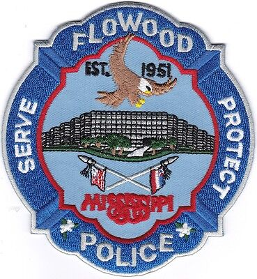 Flowood Police Patch Mississippi MS NEW!!