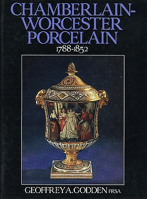 Chamberlain-Worcester Porcelain 1788-1852 - Patterns Artists Etc. / Scarce Book