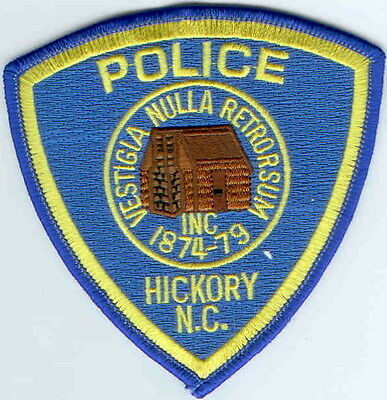 Hickory Police North Carolina patch NEW
