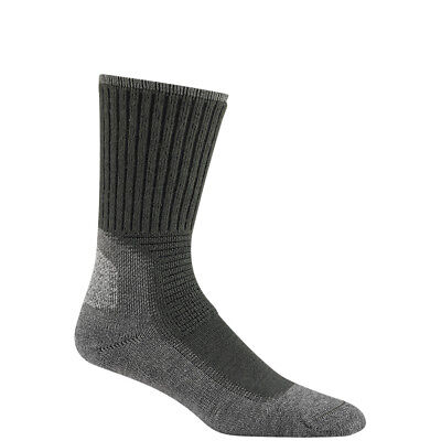 Wigwam Hiking Outdoor Pro Socks Unisex, Made in USA, Charcoal, M