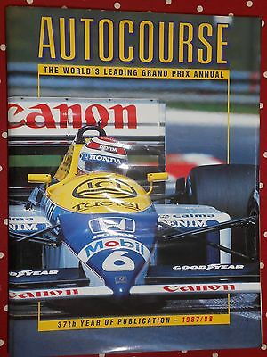 Autocourse 1987-88 Yearbook