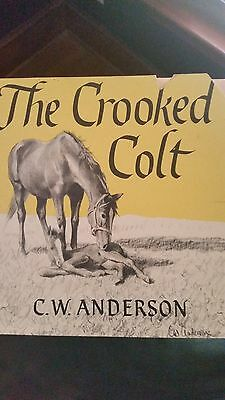 The Crooked Colt 1954 CW ANDERSON weekly reader books autographed by author.