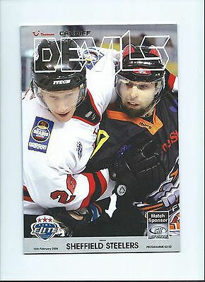 2006 Cardiff Devils v Sheffield Steelers  Feb 15th