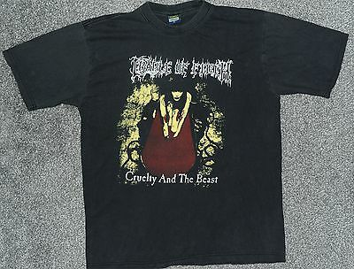 Vintage Cradle of filth CRUELTY AND THE BEAST t-shirt (XL)