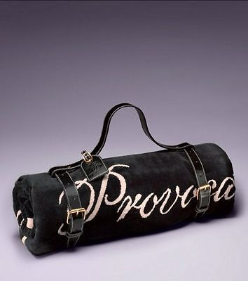 Agent Provocateur £125-Black Patent Leather-Beach Towel Carrier Bag-Luggage Belt