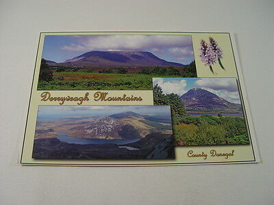 OZ879 - Multi-View Postcard - Derryveagh Mountains, County Donegal