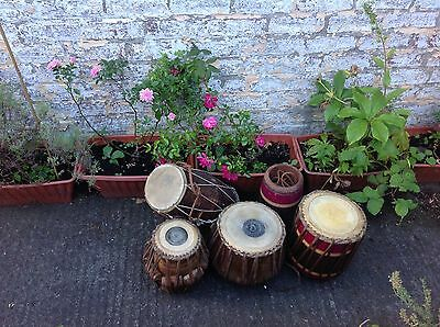 Tabla drums 2 sets and a dhol