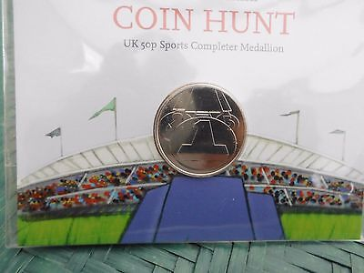 2012 London olympic 50p Sports Completer Medallion