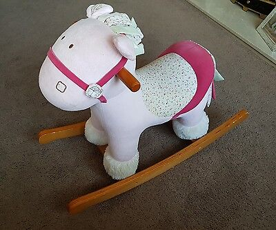 Mamas and Papas Pink Rocking Horse