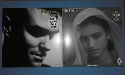 "The Smiths -The Queen Is Dead 12""rsd + Morrissey Viva Hate Gold Vinyl Lp(Sealed)"
