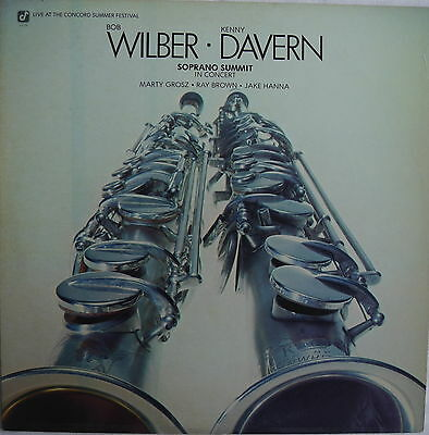 "BOB WILBER + KENNY DAVERN ""Soprano Summit"" 1976 USA - 12' VINYL - 33rpm  ""G-W"""