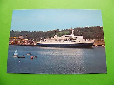 The M.V. Inisfallen Boat Postcard - Cork Ireland - Eason And Sons Signal Series