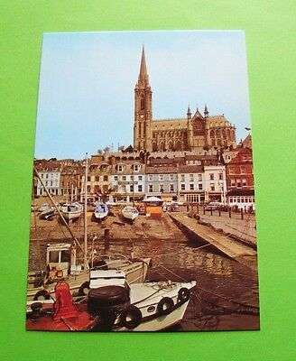 St. Colman's Cathedral And Cobh Harbour, Co. Cork, Ireland - Irish Postcard