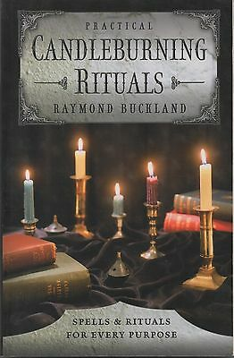 Raymond Buckland PRACTICAL CANDLEBURNING RITUALS US Paperback Book Candle Magic