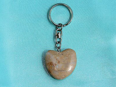 Portachiavi a forma di cuore in marmo, marble  key ring gift any occasion