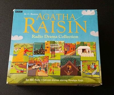 AGATHA RAISIN The BBC Cast Drama Radio Collection 10-CD Audiobook Stories Beaton