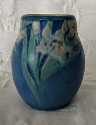 NEWCOMB Pottery Beautiful 1920 Anna Frances Simpson Rare & Nice!