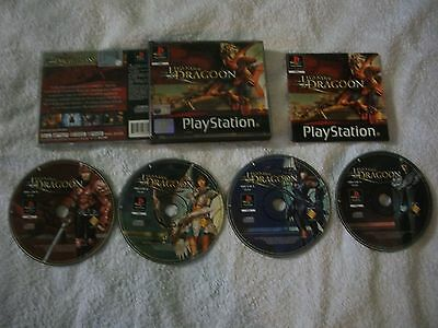 The Legend of Dragoon Sony Playstation 1 PS1 PAL ITA--COMPLETO