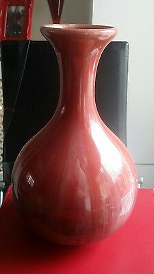 large royal lancastrian onion vase lustre 2096 af