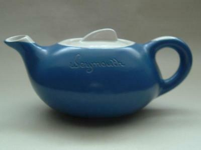 Cornish Fosters Pottery Stylish Blue & White Tea Pot - Weymouth