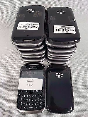 JOB LOT 16 x Blackberry Curve 9320 Mobile Phones locked to O2 WIFI BLUETOOTH GPS