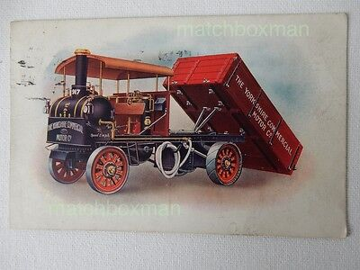 Yorkshire Commercial Motor Company Steam Wagon Advertising Printed 1916 Mfm29