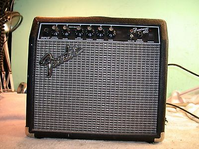 fender frontman 15g guitar amp manual