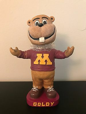 Goldy Gopher Mascot SGA Bobblehead Alumni Version University Minnesota Rare