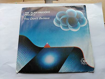 7'' Promo The Alan Parsons Project - You Don't Believe - Arista Spain 1983
