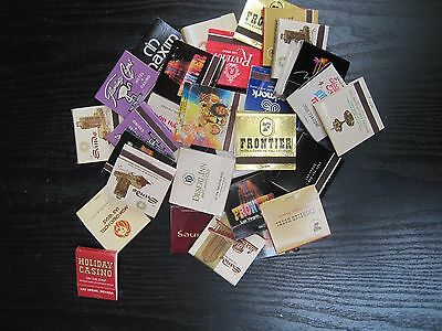 Mixed Lot 30 Las Vegas Casino Matchbooks Mostly Vintage Gambling Collectibles