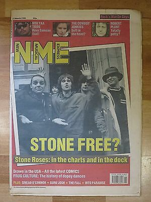 Ian Brown Stone Roses 1990 NME Madchester Manchester Britpop