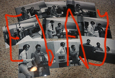 Mike Nesmith '67 set of 9 Unseen PHOTOS In studio Wrecking Crew-the MONKEES 5x7