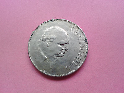 Year 1965 Elizabeth II Britain UK Crown Winston Churchill Birthday Gift (T540)