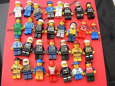 Lego mini figure bundle of 30 figures mixed bunch