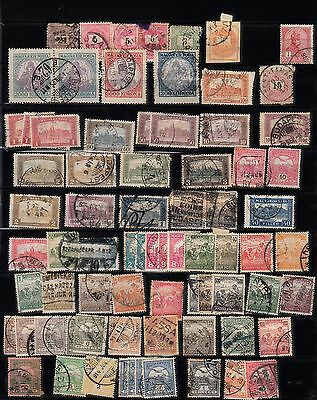 Ungarn Magyar Selection Of Used Stamps