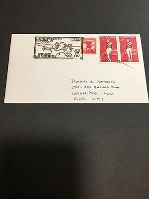 LERCPEX 50 Years 1932-1982 Cover - Amelia Earhart - Burbank CA USA