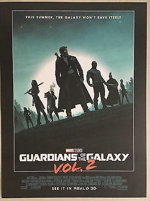 Guardians Of The Galaxy Vol 2 Official Movie Poster-Matt Ferguson + Free Poster