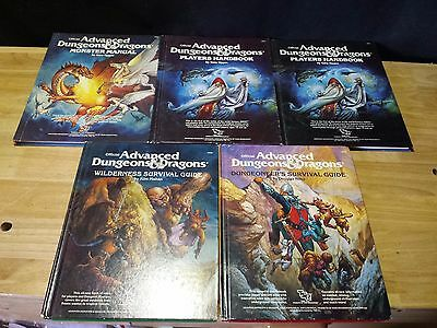 Advanced Dungeon & Dragons Books Wilderness Survival Monster Manual 2019 2010
