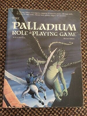The Palladium Role-playing Game Book