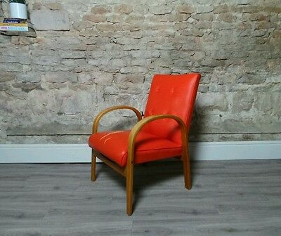 Vintage mid century 1960s retro lounge arm chair reupholstery LDN DELIVERY £25