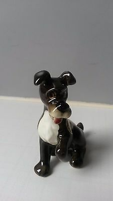 Rare Disney Goebel Sitting Tramp from the Lady and the Tramp DIS 168