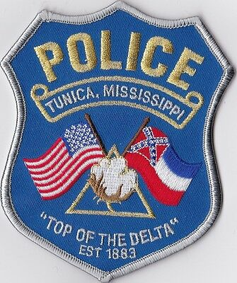 Tunica Police Patch MS Mississippi NEW!!