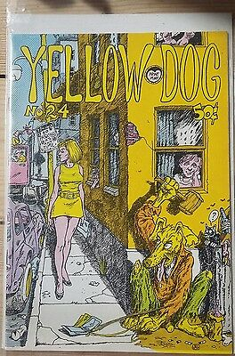 RARE Yellow Dog 24.  Underground Comic 1973. First printing. Great Condition