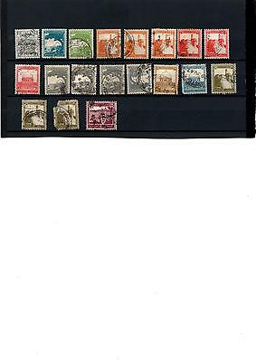 Palestine stamps x 27