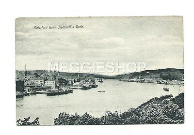Ireland : Waterford From Cromwell's Rock 1911 Postcard