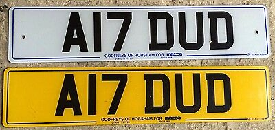 Cherished Registration Number A17 DUD