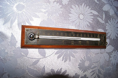 Vintage Charles Wilder Co. Troy New York Thermometer